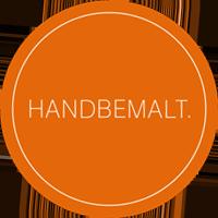Groebner-Sticker-handbemalt