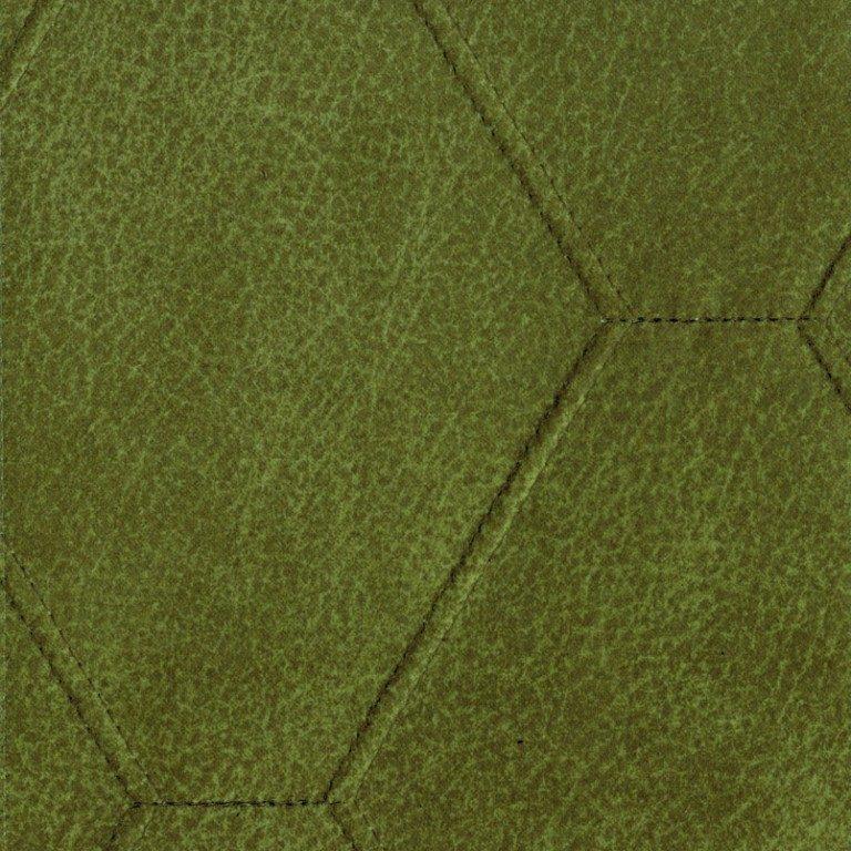 Alberta-Lederoptik-Raute-Grün