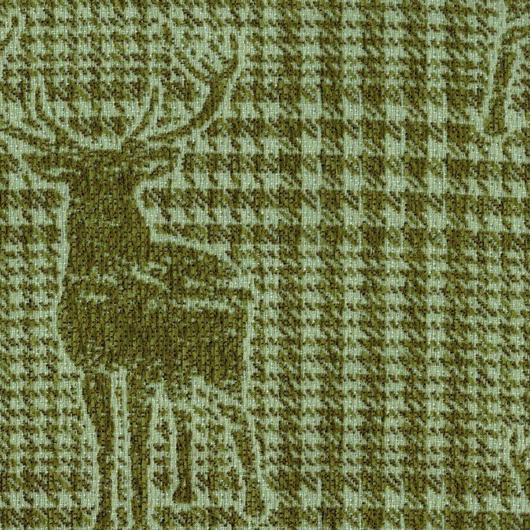 Alberta-Hirsche-Karo-Grün